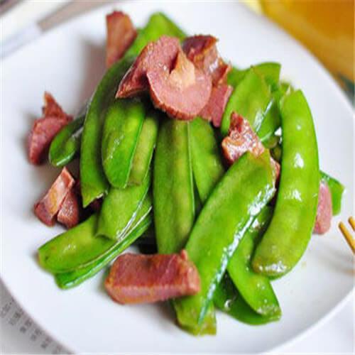 驴肉荷兰豆