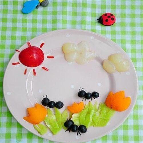小蚂蚁果盘