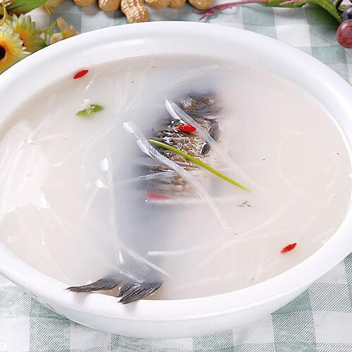 鲫鱼萝卜丝汤