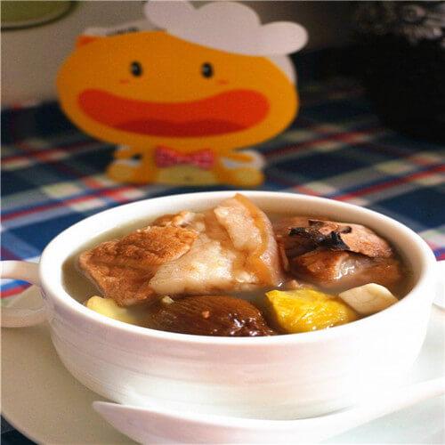 橄榄煲排骨汤