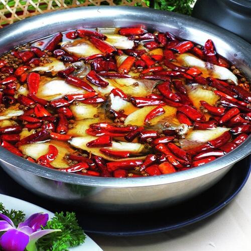 泡椒仔姜水煮鱼