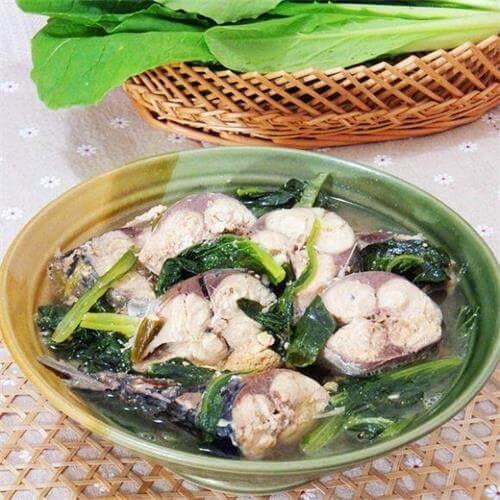 小白菜鲐鱼