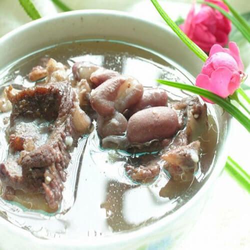 红花豆猪骨汤