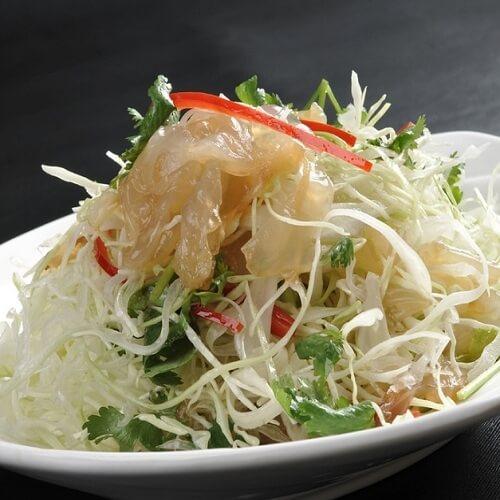 海蜇头拌白菜