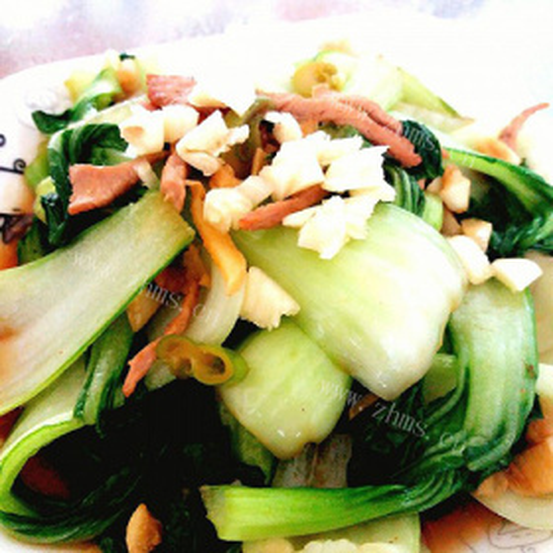 素肉丝油菜