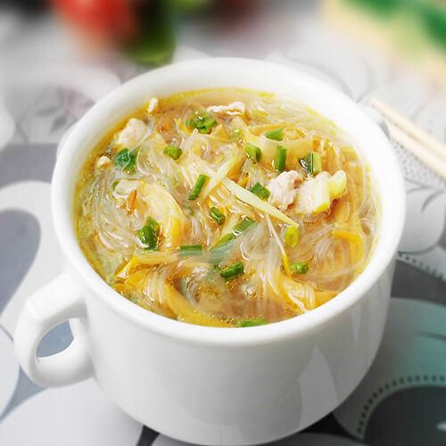 绿豆粉丝汤