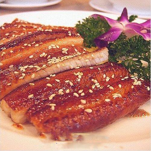 五香煎鳗鱼