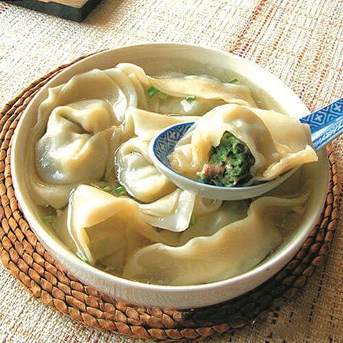 大白菜馄饨砂锅煲