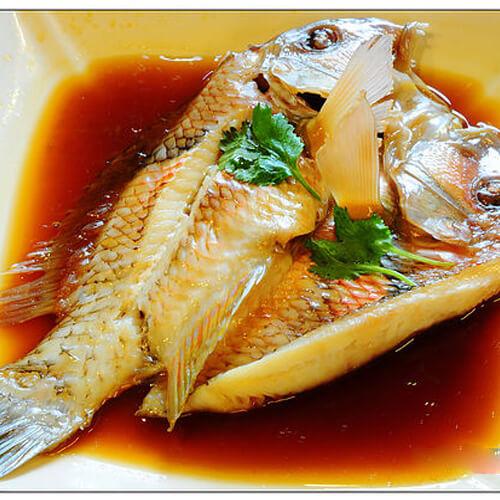 姜汁海鲫鱼