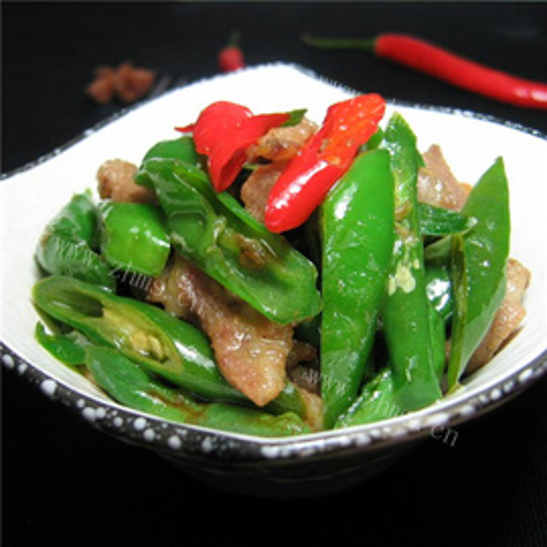 菇香甜椒五花肉