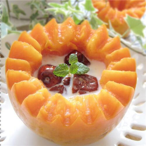 木瓜红枣糖水
