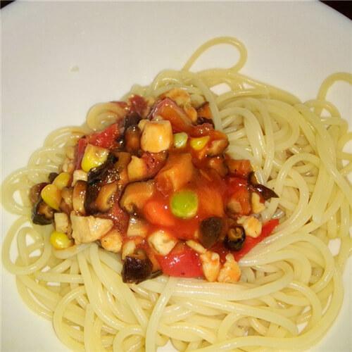 香菇蔬肉丝
