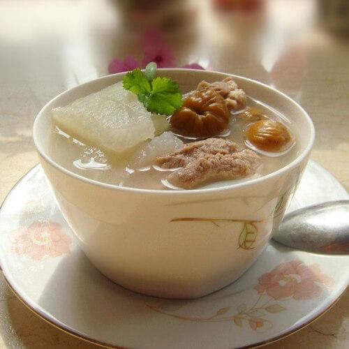 冬瓜瓤羊骨汤