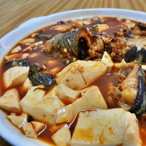 #城市菜#东营鲢鱼炖豆