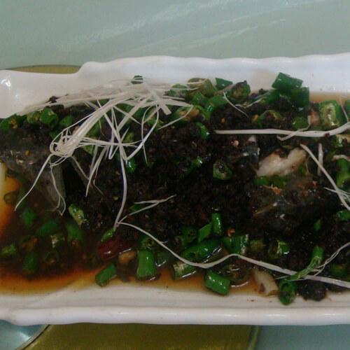 味道不错的鲟鱼竹叶菜