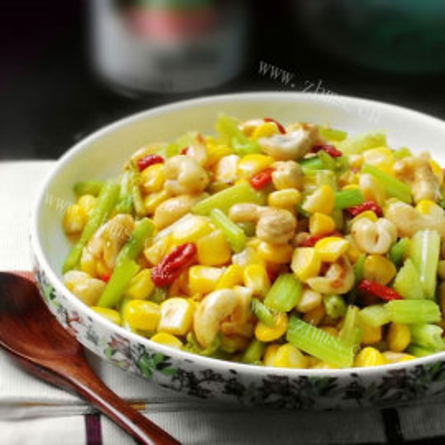 玉米腰果彩丁