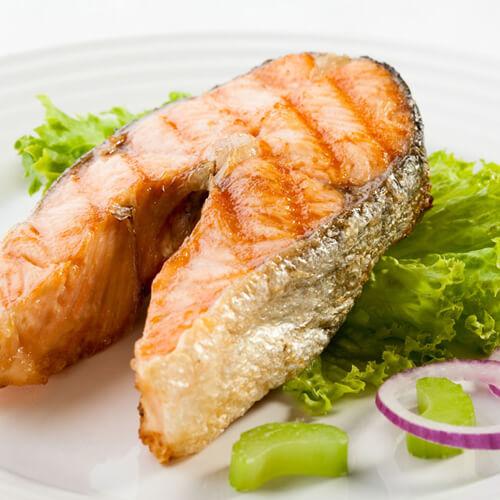 鮭魚分解秀