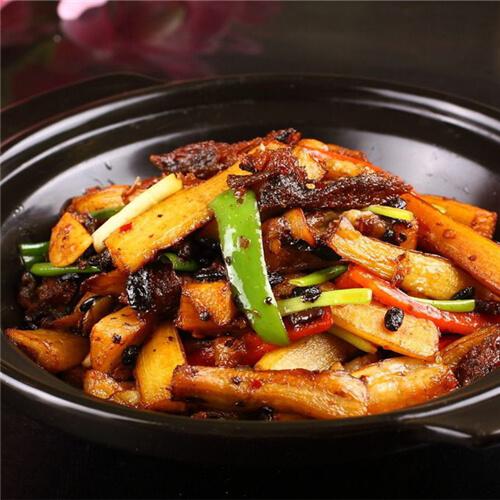 豆豉鲮鱼煲方瓜