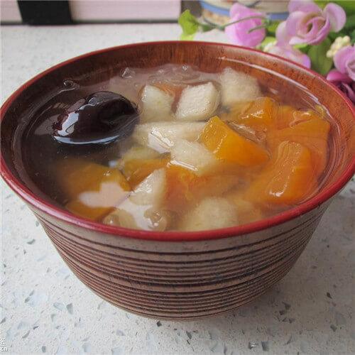 清凉美容木瓜梨汤