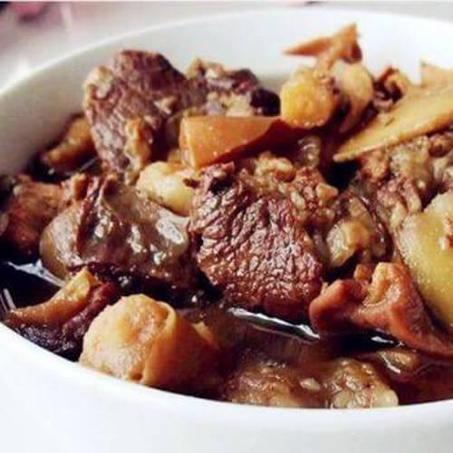 子姜焖羊肉