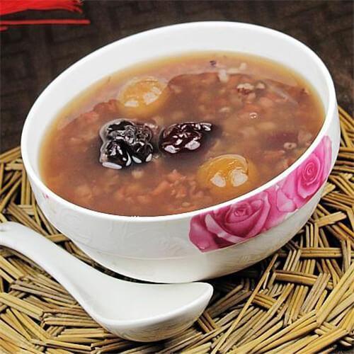 红枣桂圆燕麦粥