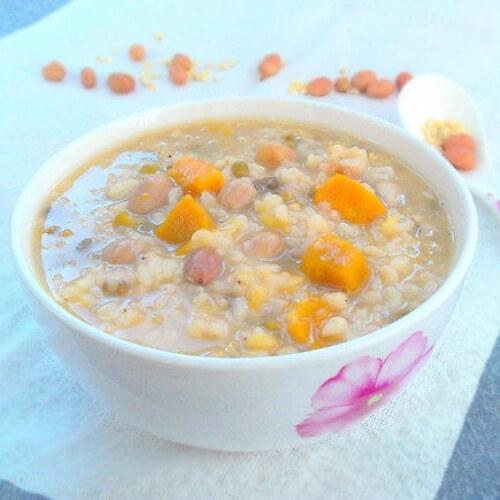 玉米高粱粥