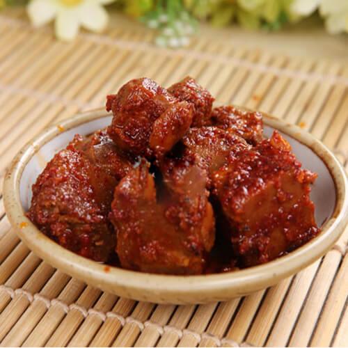红油腐乳节瓜