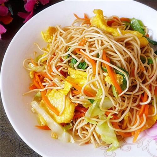 素什锦炒油菜