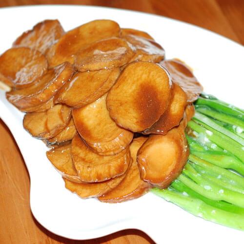 杏鲍菇烧菜心