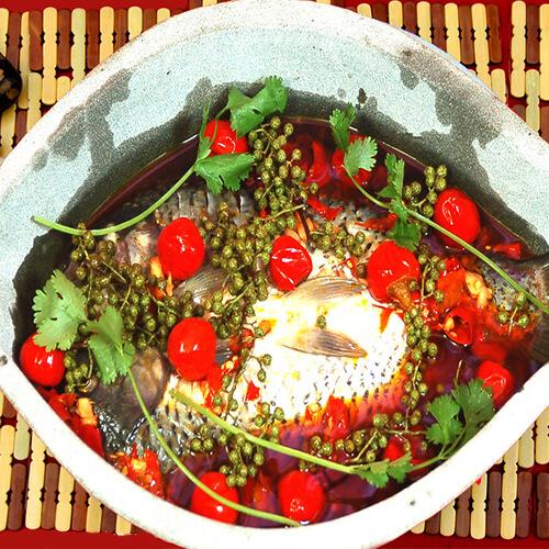白萝卜烧鳊鱼