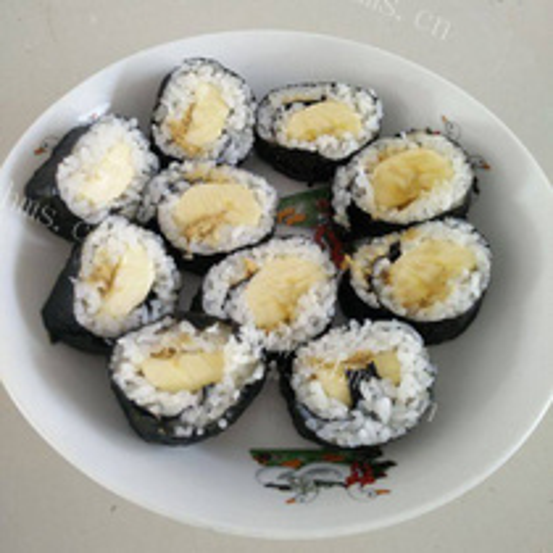 肉松鸡蛋胡萝卜寿司