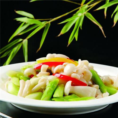 芦笋白玉菇