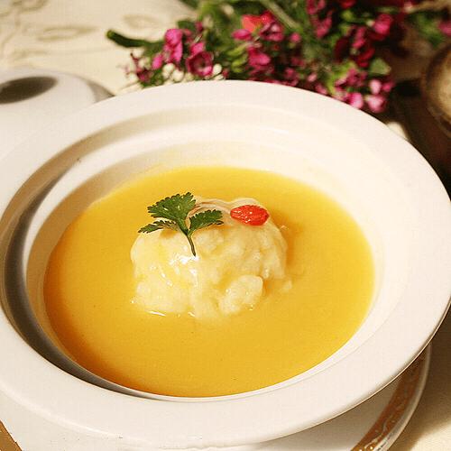 干酪鳕鱼浓汤