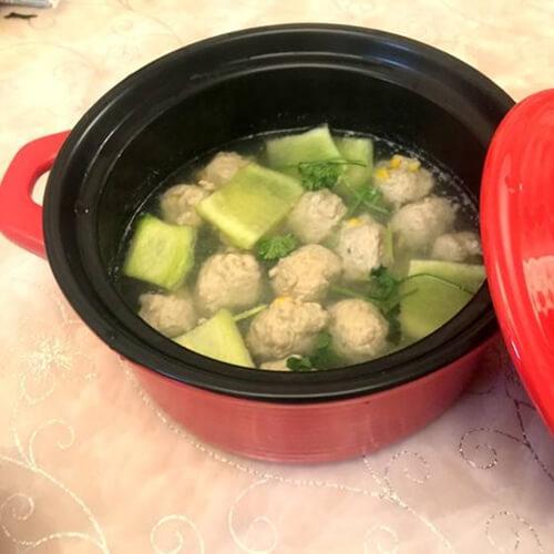 玉米丸子汤