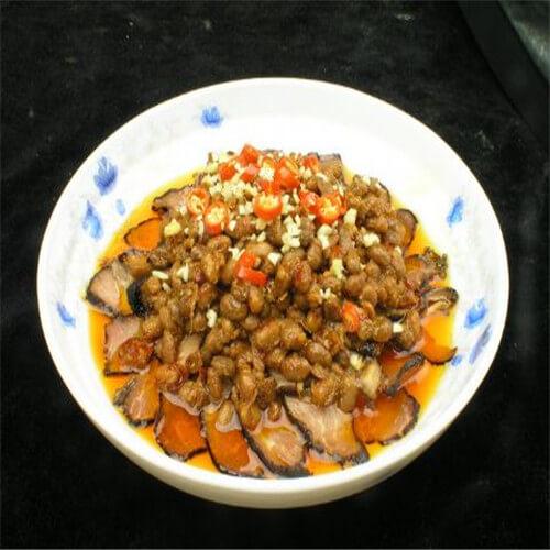 豆豉烧鳕鱼