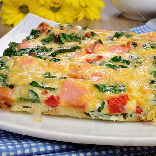 菠菜奶酪煎蛋