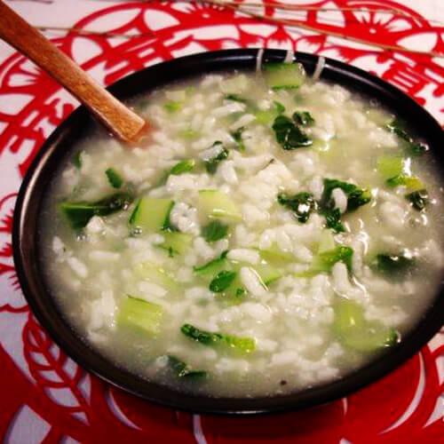 菊花菜咸粥