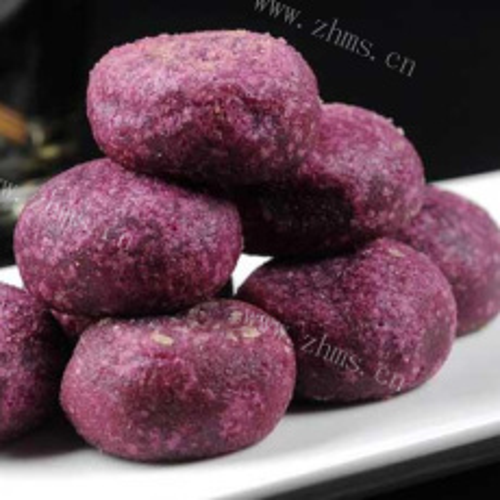 红糖紫薯包