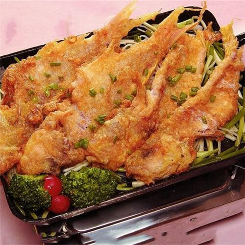 香煎金线鱼