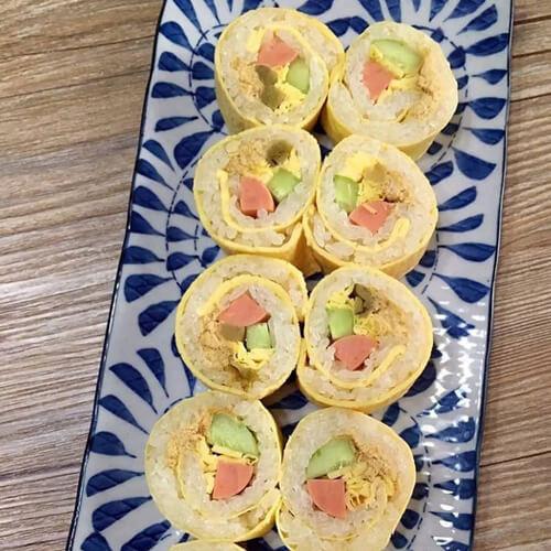 黄瓜蛋皮寿司