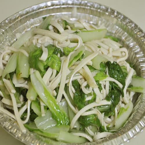 白菜烩千张