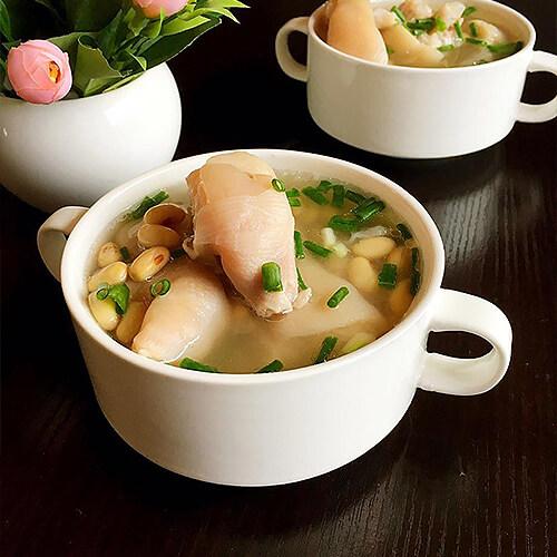 黄豆猪手水蛇汤