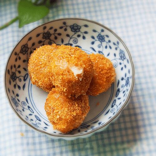 奶酪鸡肉球