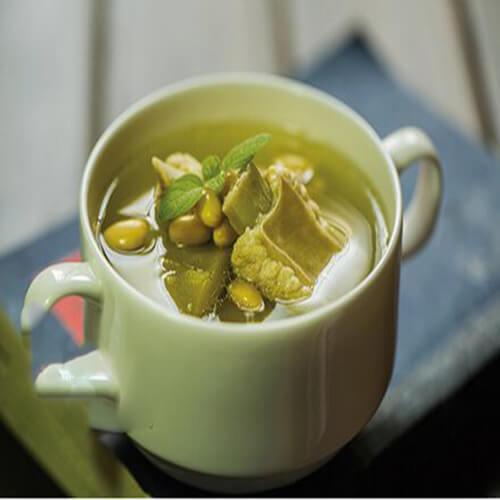 简单版苦瓜排骨黄瓜汤