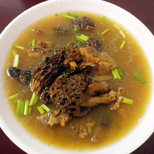 味道不错的羊肚菌排骨汤