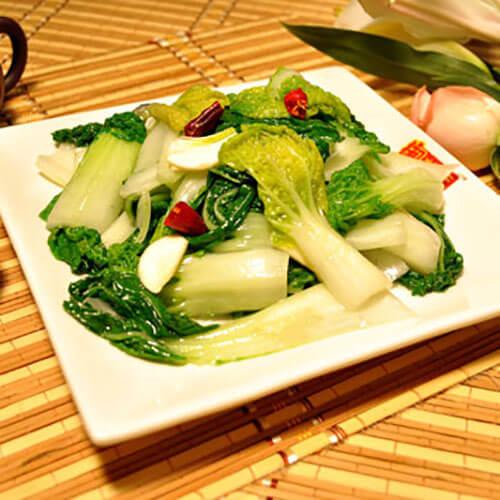 蒜粒黄心菜