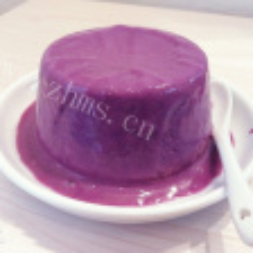 紫薯酸奶布丁