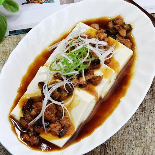 海参肉沫豆腐