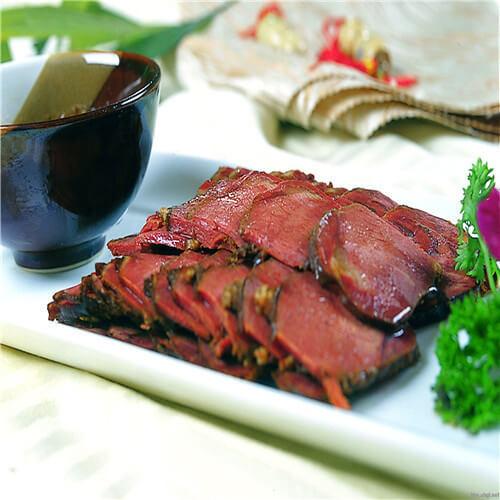 红油香酥驴肉