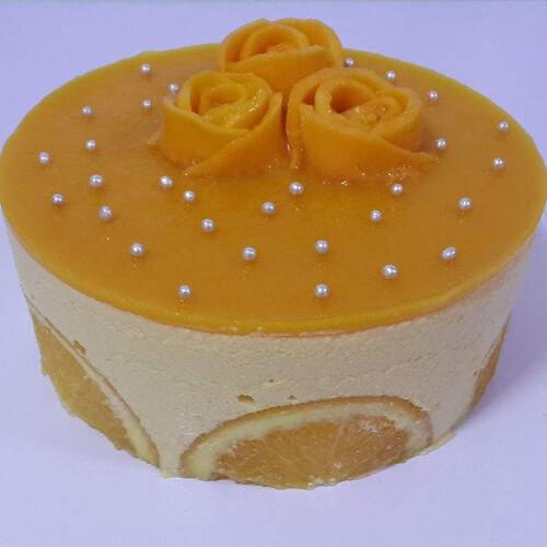 香橙薯泥蛋糕